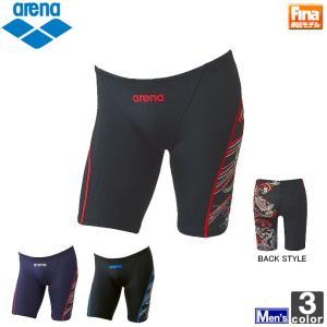 アリーナ/arena  メンズ ハーフ スパッツ FAR-6516M 1607 紳士 男性 FINA承認モデル swimclub-grasshopper