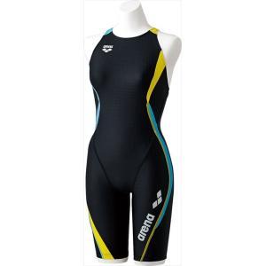 《送料無料》arena (アリーナ) セイフリーバックスパッツ(着やストラップ) アクアトレーニング FSA7632W BKBY 1706 レディース ウィメンズ 婦人|swimclub-grasshopper