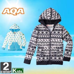 《送料無料》アクア /AQA ジュニア シーラックス ラッシュパーカー バンビ 2 KW-4503A 1704 キッズ 子供 子ども|swimclub-grasshopper