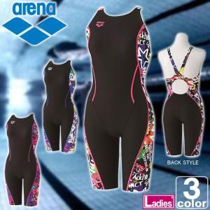 アリーナ/arena レディース タフ ハーフ スパッツ SAR-7127W 1709 ウィメンズ 婦人 公式大会使用不可|swimclub-grasshopper