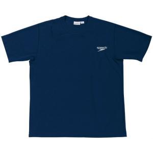 ●吸汗速乾に優れたTシャツ。衿・袖口リブ仕様。右肩にspeedoロゴ印字。●素材:ハニカム●サイズ:...