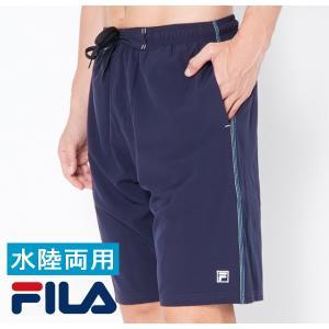FILA サーフパンツ メンズ インナー付き 水着メンズ ボ...