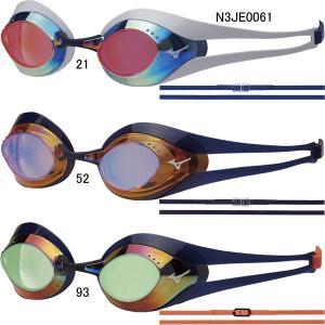 ミズノ(MIZUNO)GX-SONIC EYE ノンクッションミラーゴーグル N3JE0061|swimshop-jone