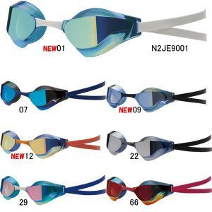 ミズノ(MIZUNO)GX-SONIC EYE J ノンクッションミラーゴーグル N3JE9001|swimshop-jone