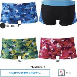 (ネコポス可)ミズノ(MIZUNO)男性用 トレーニング水着 エクサスーツメンズショートスパッツN2MB9074 swimshop-jone