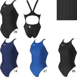 (ネコポス可)ミズノ(MIZUNO)女性用 競泳水着 STREAM ACE ウイメンズハイカット(レースオープンバック)N2MA0222 swimshop-jone
