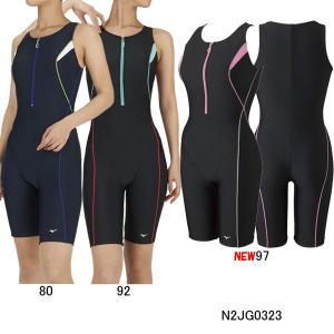 ミズノ(MIZUNO)女性用 フィットネス水着 ウイメンズオールインワン N2JG0323 swimshop-jone