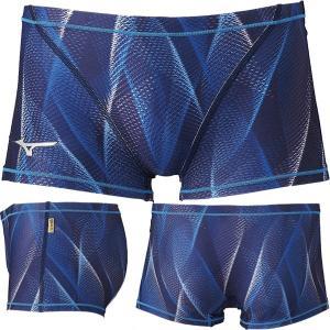 (ネコポス可)ミズノ(MIZUNO)男性用トレーニング水着 エクサスーツ メンズショートスパッツ N2MB0061 swimshop-jone