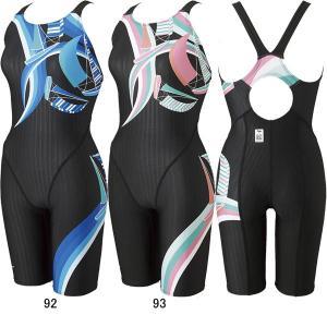 ミズノ(MIZUNO)女性用 競泳水着 寺川綾コレクションSTREAM ACE ウイメンズハーフスーツ(マスターズバック) N2MG1741 swimshop-jone