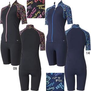 ミズノ(MIZUNO)女性用 フィットネス水着 ウイメンズ保温セパレーツ(ホットスーツ) N2JG1846 swimshop-jone