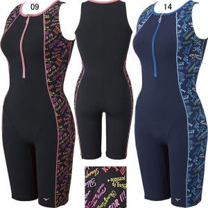 ミズノ(MIZUNO)女性用 フィットネス水着 ウイメンズ保温オールインワン(ホットスーツ) N2JG1847 swimshop-jone