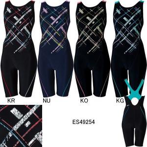 エレッセ(ellesse)女性用 フィットネス水着 ウイメンズプリントオールインワン ES49254|swimshop-jone