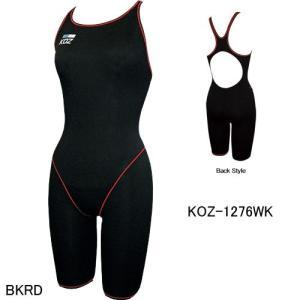 (ネコポス可)コーズ(KOZ)女性用 トレーニング水着 ウイメンズハーフスパッツ KOZ-1276WK|swimshop-jone