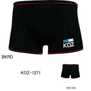 (ネコポス可)コーズ(KOZ)男性用トレーニングショートスパッツ KOZ-1271|swimshop-jone