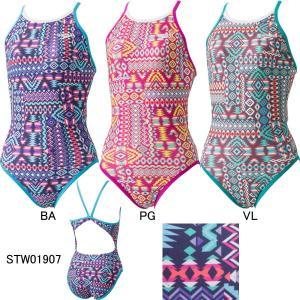(ネコポス可)スピード(SPEEDO)女性用 トレーニング水着ウイメンズターンズスーツ STW01907|swimshop-jone