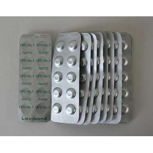 ロビボンド(Lovibond)DPD No.3(Rapid)錠剤 (結合・全塩素用)250錠箱 LB-DPD3 swimshop-jone