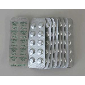 ロビボンド(Lovibond)フェノールレッド(Rapid)錠剤 (pH用)250錠箱 LB-FR swimshop-jone