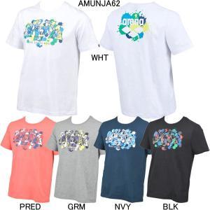 (ネコポス可)アリーナ(ARENA)アリーナくん メンズTシャツ AMUNJA62 swimshop-jone