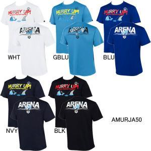 (ネコポス可)アリーナ(ARENA)アリーナくん メンズTシャツ AMURJA50 swimshop-jone
