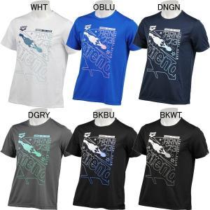 8003AULJA54-アリーナくん,Tシャツ,吸汗速乾,インドネシア製,バックメッシュ(ポリエステ...