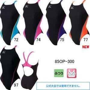 ミズノ(MIZUNO)女性用 トレーニング水着 エクサスーツウイメンズミディアムカット  85OP-300|swimshop-jone