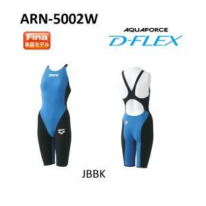 アリーナ(ARENA) 女性用 競泳水着 アクアフォース・D-FLEX ハーフスパッツフラットクロスバック ARN-5002W|swimshop-jone