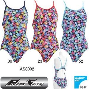アシックス(asics) 女性用 トレーニング水着FOR COMPEパワースーツウイメンズレギュラーAS8002|swimshop-jone
