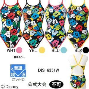 アリーナ(ARENA)女性用 トレーニング水着 ディズニー(ミッキー)タフスーツウイメンズスーパーフライバック DIS-6351W swimshop-jone
