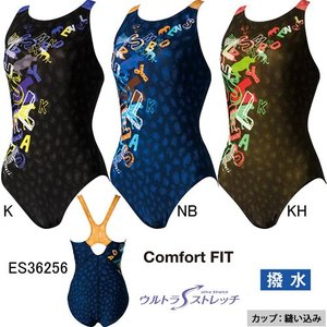 エレッセ(ellesse)女性用 フィットネス水着 ウイメンズプリントULワンピース ES36256|swimshop-jone