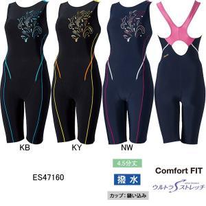エレッセ(ellesse)女性用 フィットネス水着 ウイメンズプリントオールインワン ES47160|swimshop-jone