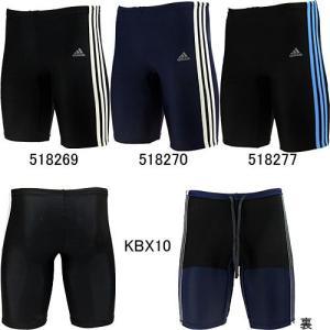 アディダス(adidas)男性用 フィットネス水着 メンズ3ストライプスタイツ KBX10|swimshop-jone