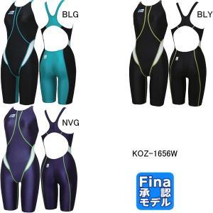 コーズ(KOZ)女性用 競泳水着 ウイメンズハーフスパッツ KOZ-1656W|swimshop-jone