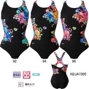 ミズノ(MIZUNO)女性用 フィットネス水着 プライムストローク ウイメンズワンピース(ピースバック) N2JA7305|swimshop-jone