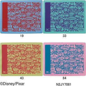 ミズノ(MIZUNO)トイストーリー(Toy Story)プリントスイムタオル(小) (プラセーム) (@2200)N2JY7081|swimshop-jone