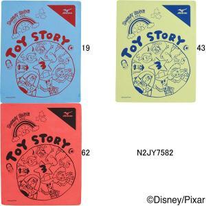 ミズノ(MIZUNO)トイストーリー(Toy Story)プリントスイムタオル(小) (プラセーム) (@2200)N2JY7582|swimshop-jone