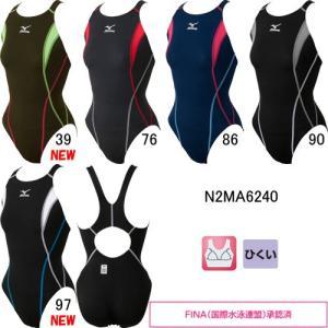 ミズノ(MIZUNO) 女性用 競泳水着 ストリームアクティバ ウイメンズローカット(オープン) N2MA6240|swimshop-jone