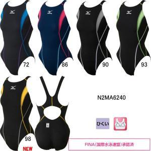 ミズノ(MIZUNO)女性用 競泳水着 ストリームアクティバ ウイメンズローカット(オープン) N2MA6240 swimshop-jone