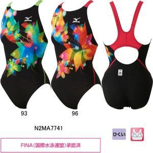 ミズノ(MIZUNO)女性用 競泳水着 ストリームアクティバ ウイメンズワンピース(ローカット) N2MA7741 swimshop-jone