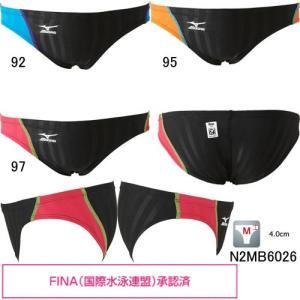 ミズノ(MIZUNO)男性用 競泳水着 ストリームアクセラ メンズVパンツ N2MB6026|swimshop-jone
