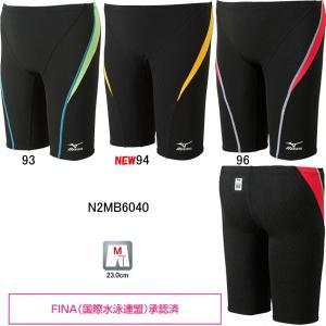 ミズノ(MIZUNO)男性用 競泳水着 ストリームアクティバ メンズハーフスパッツ N2MB6040 swimshop-jone