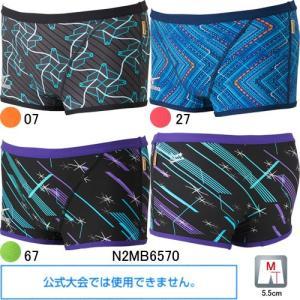 ミズノ(MIZUNO)男性用 トレーニング水着 寺川綾コレクションエクサスーツメンズショートスパッツN2MB6570|swimshop-jone