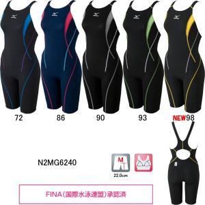ミズノ(MIZUNO)女性用 競泳水着 ストリームアクティバ ウイメンズハーフスーツ(オープン) N2MG6240 swimshop-jone