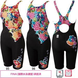 ミズノ(MIZUNO)女性用 競泳水着 ストリームアクティバ ウイメンズハーフスーツ(オープン) N2MG7247 swimshop-jone