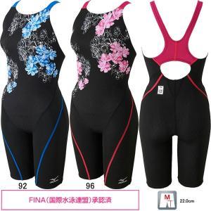 ミズノ(MIZUNO)女性用 競泳水着 ストリームアクティバ ウイメンズハーフスーツ(オープン) N2MG7743 swimshop-jone