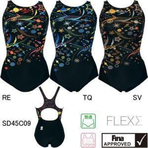 スピード(SPEEDO) 女性用 競泳水着 ウィメンズコンフォカットスーツ SD45C09|swimshop-jone