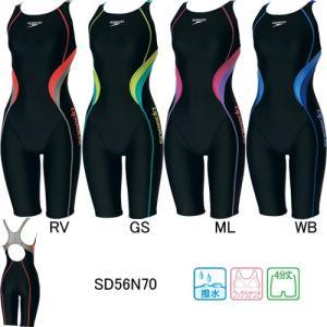 スピード(SPEEDO)女性用 フィットネス水着 ウイメンズスパッツスーツ SD56N70 swimshop-jone
