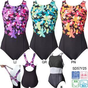 スピード(SPEEDO)女性用 フィットネス水着 ウイメンズスイムスーツ SD57Y25 swimshop-jone