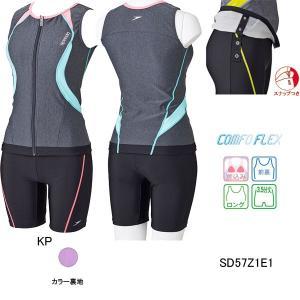 スピード(SPEEDO) 女性用 フィットネス水着 ウィメンズセパレーツ(クイーンサイズ) SD57Z1E1 swimshop-jone