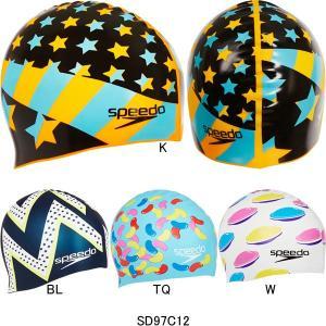 スピード(SPEEDO)シリコンキャップ(@2000) SD97C12|swimshop-jone