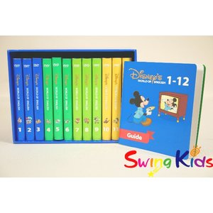 DWE ディズニー英語システム ストレートプレイDVD クリーニンク゛済 2012年購入 新品同様多数 ワールドファミリー 2019030560 中古|swing-kids|02